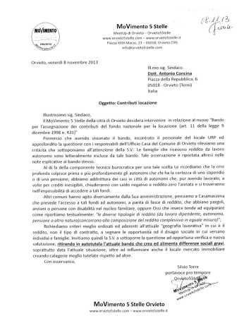 comune orvieto 2013-11-08 contributi locazioni