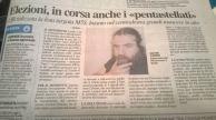 """Passa la """"certificazione"""" la lista M5S proposta da Silvio Torre"""