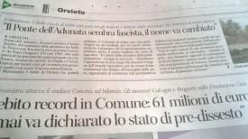 """Intervento """"Ponte dell'Adunata"""""""