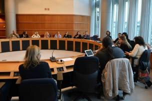 Sessione di confronto Europa-Territori con gli Eurodeputati e noi portavoce locali (qui stiamo parlando di Fondi Diretti)