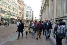 Tra l'Europarlamento e le sedi di Commissione: con Laura (Eurodeputato M5S) Tiziana e Filippo (Portavoce alla Camera dei Deputati), Lucia (Portavoce in Consiglio Comunale)