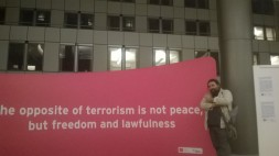 All'Exibition against terrorism