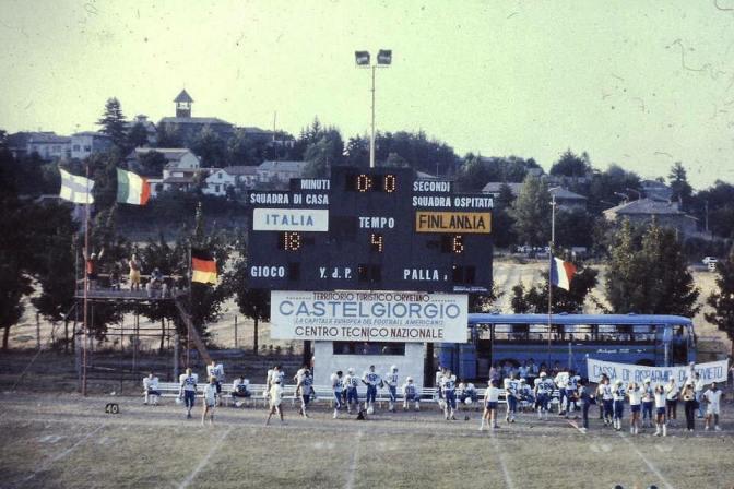 Torna il Football americano a Castel Giorgio
