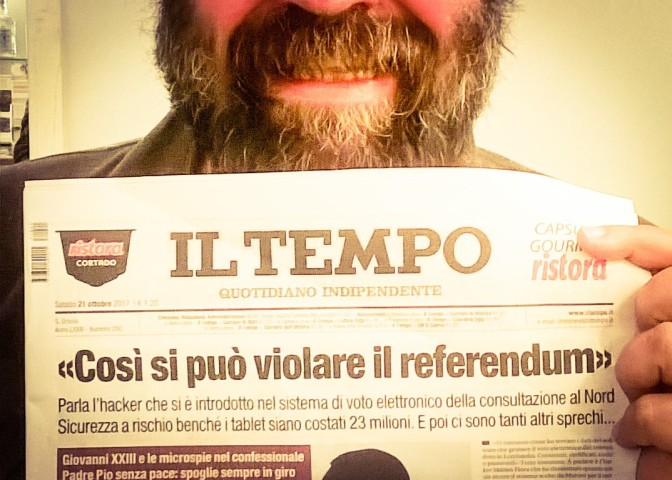 Referendum autonomie 2017: Ombre sul voto elettronico