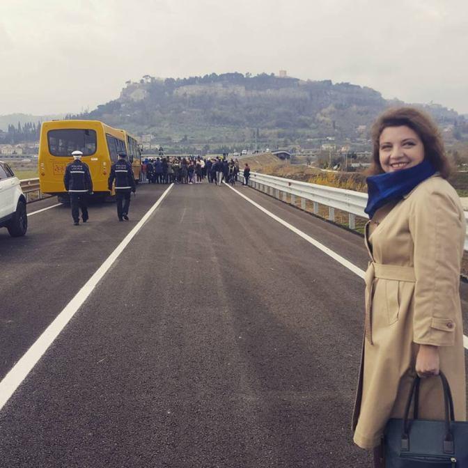 Inaugurato il Ponte Pertini